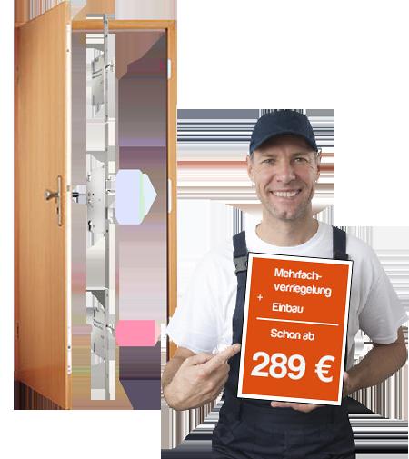 Angebot zur Mehrfachverriegelung vom Schlüsseldienst Duisburg.